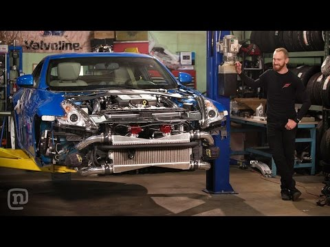 Dual Turbo Street Car Upgrade & A Missile Makeover: Drift Garage Ep. 202 video