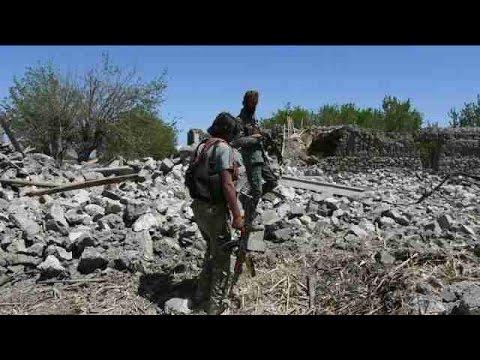 Afganistán afirma que hay 94 muertos del EI por bombardeo de EEUU
