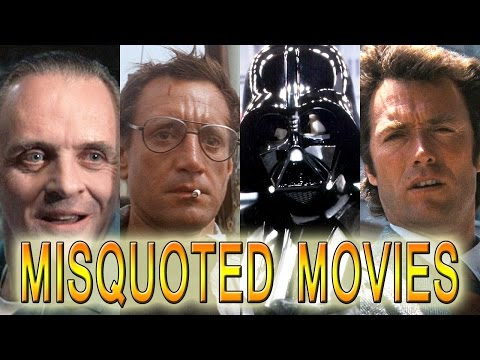 9 Most Misquoted Movie Lines: Star Wars, Jaws & More!