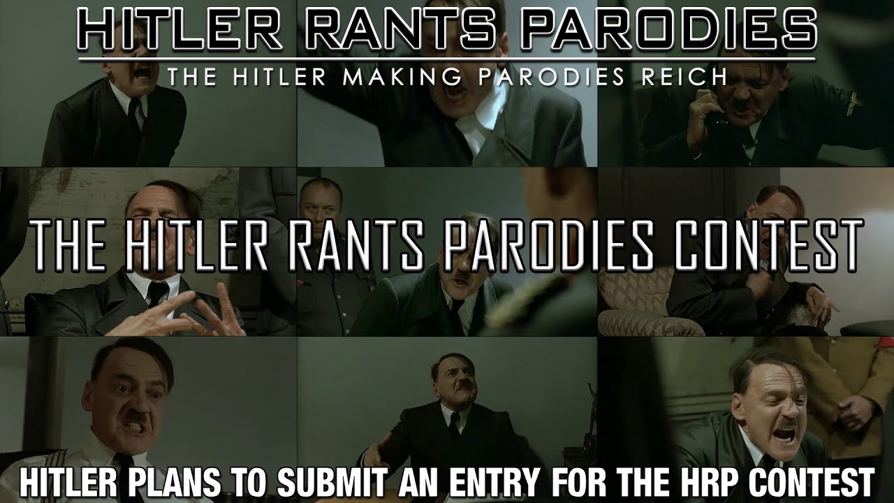 Hitler plans to submit an entry for HRP's Contest