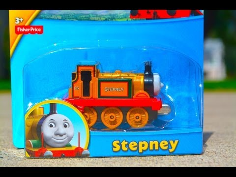 STEPNEY - Thomas Take N Play NEW 2014 Die Cast Toy Train Review By Fisher Price