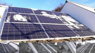 Tesco Mark Group Solar Photovoltaic Panel Installation Angus Scotland