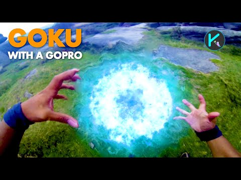 Goku With A Gopro (real Life Dragonball Z) video