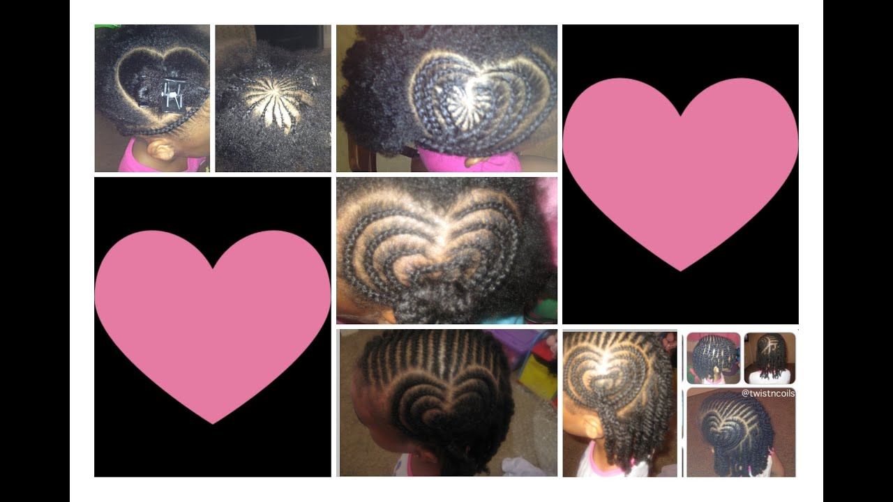 How To Do A Heart Shape Braid Design Fun Cute Hairstyles