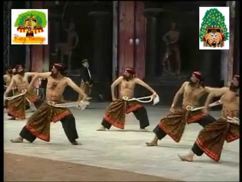 5 components of dancers in Reog Ponorogo - Part 4 - Warok