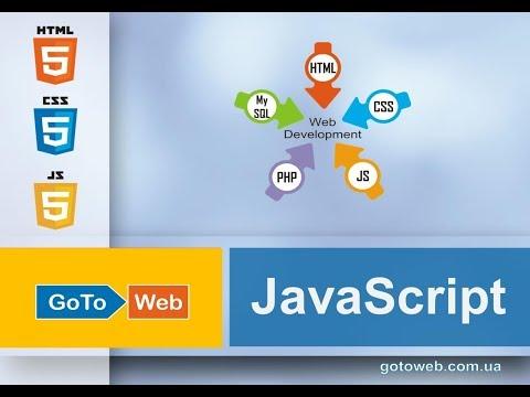 GoToWeb, Видео курс JS, урок 1, Синтаксис JS, встраивание кода JS, переменные