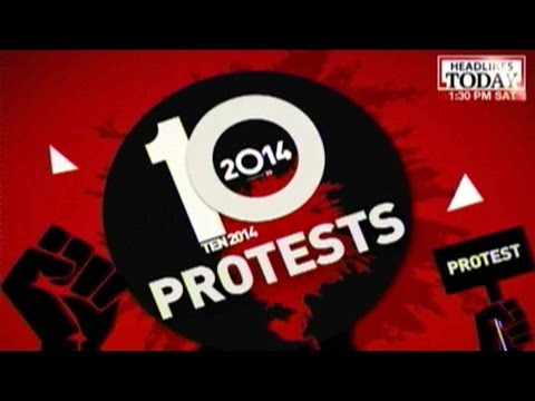 Top 10 Protests of 2014