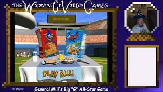 """The Late Night Retro Game Show starring The Wizard of Video Games Episode 5: Big """"G"""" All-Star Game"""
