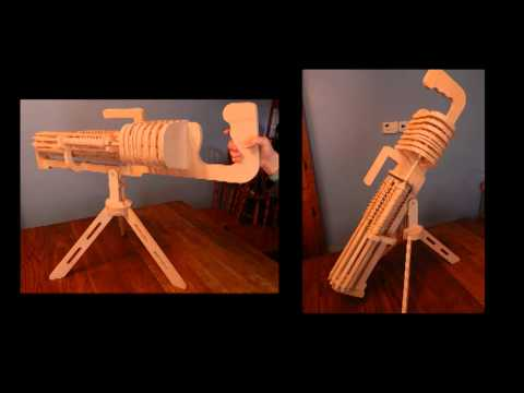Scroll Saw Rubber Band Gun