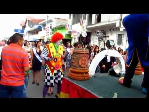 Ilobasco Inicio Fiestas Patronales 2011