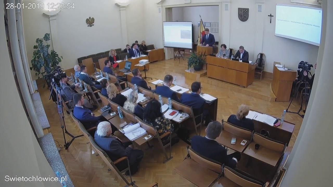 VII sesja Rady Miejskiej 28.01.2019