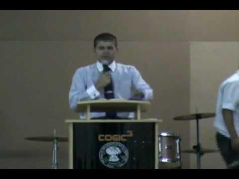 Pr. Enéas Ribeiro | Pregação - Orar / Interceder | COGIC MFA | Church of God in Christ | COGIC 3