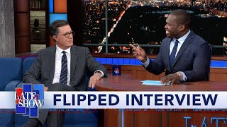 Flipped: 50 Cent Interviews Stephen Colbert