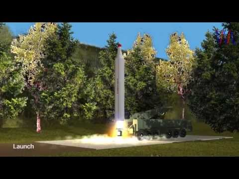 3D Model: North Korean BM-25 Musudan Ballistic Missile