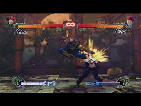 Street Fighter 4 - Akuma / Gouki Combo Expo The Demon Has Been Unleashed! (1280x720)