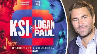 Eddie Hearn on PROMOTING KSI vs. LOGAN PAUL REMATCH