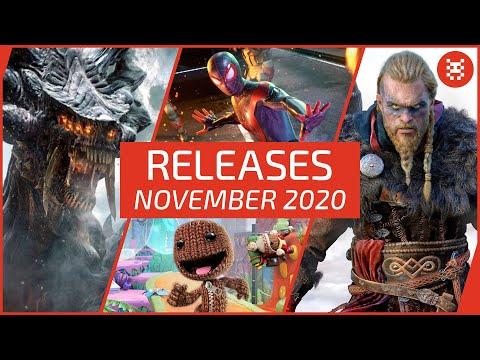 🆕 Neue SPIELE im NOVEMBER 2020 für PS4, Xbox One, Nintendo Switch & PC | Frisch aufgetischt