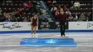 Skate Canada 2012 -1/8- PAIRS SP - Lindsay DAVIS  Mark LADWIG - 26/10/2012