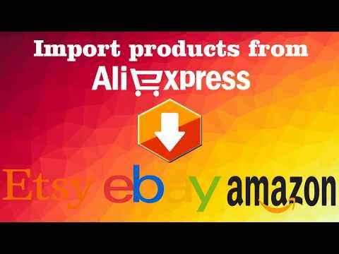 Dropshipping - Aliexpress to ebay , amazon , etsy fast listing tool