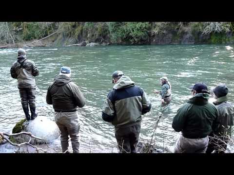 Winter Steelhead Fly Fishing Schools