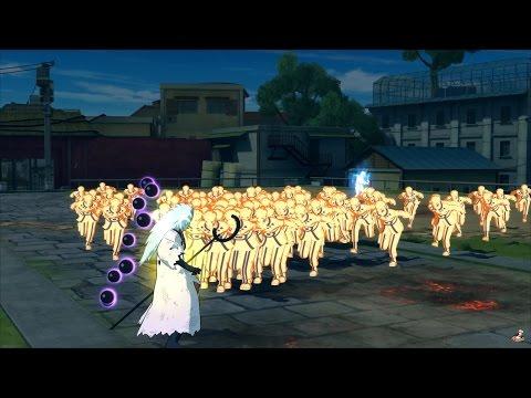 Naruto Ultimate Ninja Storm 4 - Multi Shadow Clone Moveset | Naruto The Last (1080p)
