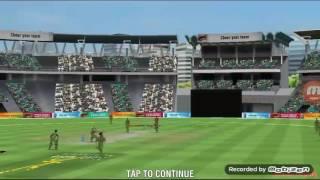 Wcc cricket game reverse swip shot
