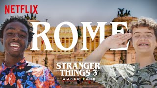 Stranger Things 3 World Tour | Rome | Episode 6
