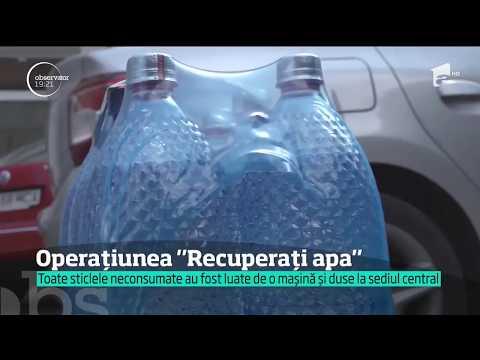Apa distribuită polițiștilor din Suceava a fost recuperată, la ordinul unui șef
