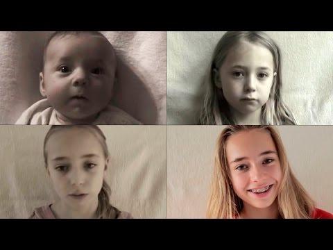 Девочка повзрослела на 15 лет за 30 секунд!