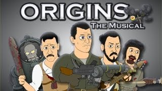 ♪ ORIGINS THE MUSICAL - Black Ops 2 Zombies Parody