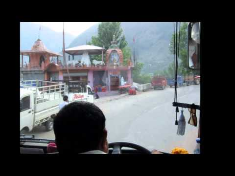 Travelling in Volvo Bus To Manali