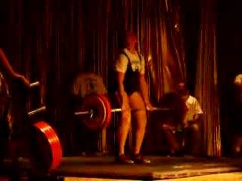 Jennifer Donatelli Deadlifting 347.5lbs