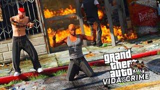 GTA V : VIDA DO CRIME   MAROLA ME LEVOU PARA COBRAR OS CALOTEIRO DO INTERIOR   EP#54