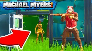 """MICHEAL MYERS"" Hide & Seek Mini Game - Fortnite Battle Royale Custom Games"