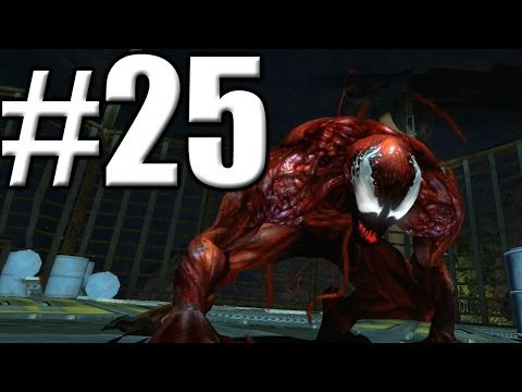 The Amazing Spider Man 2 - Walkthrough Part 25 - Carnage Boss Fight