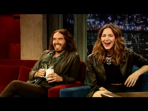 Katharine Mcphee Meets Russell Brand (late Night With Jimmy Fallon) video