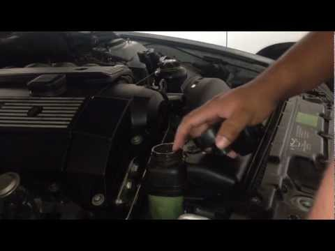 DIY Replacing Expansion Tank/Radiator Cap And Way 97-03 BMW 5 Series E39 528I E46 E36 E38 M5