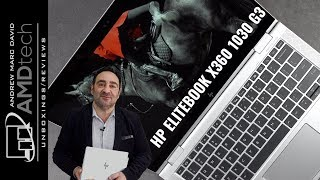 HP EliteBook x360 1030 G3:  The 13-in Convertible Laptop to Beat
