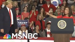 President Donald Trump TV Stars Stump For Their Boss | All In | MSNBC