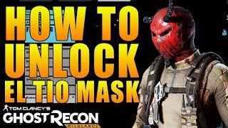 HOW TO UNLOCK BROKEN EL TIO MASK! | FULL WALKTHROUGH | GHOST RECON WILDLANDS EL TIO MASK EASTER EGG
