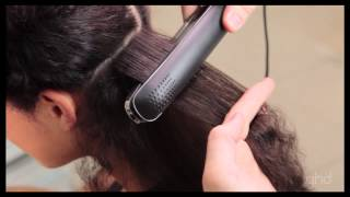ghd eclipse®   How to straighten naturally curly hair