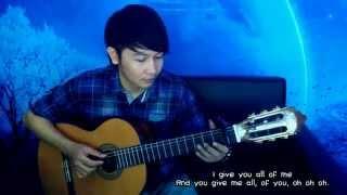 download lagu John Legend All Of Me - Nathan Fingerstyle gratis