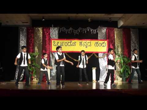 Kids Dance For Orlando Kannada Rajyotsava, 2013 video
