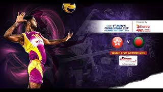 Hong Kong v Bangladesh – Quarter Final - 1st Asian Men's Volleyball Challenge Cup