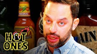 Download Lagu Nick Kroll Delivers a PSA While Eating Spicy Wings | Hot Ones Gratis STAFABAND