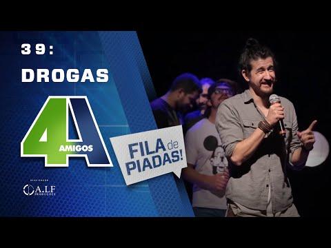 DROGAS - FILA DE PIADAS - #39 Feat:. Fabio Rabin thumbnail
