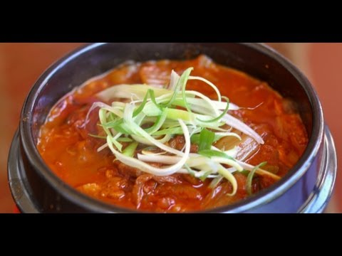 Korean Cooking Kimchi Jjigae  Kimchi Stew  Recipe   World Of Flavor