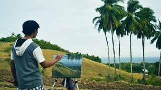 Outdoor Painting in Guihulngan City by JMLisondra