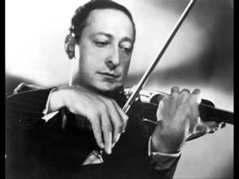 Jasha Heifetz  Chaconne