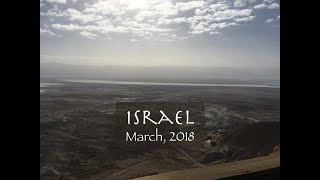 Israel Tour, March 2018 - Clark and Joy Cothern
